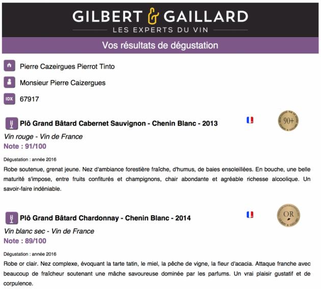 Plô Grand Bâtard - avis Pierre&Gaillard avril 2016