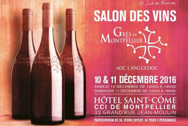 Salon des Vins des Grés de Montpellier - 10 & 11 décembre 2016 - BLOG TrinqueFougasse