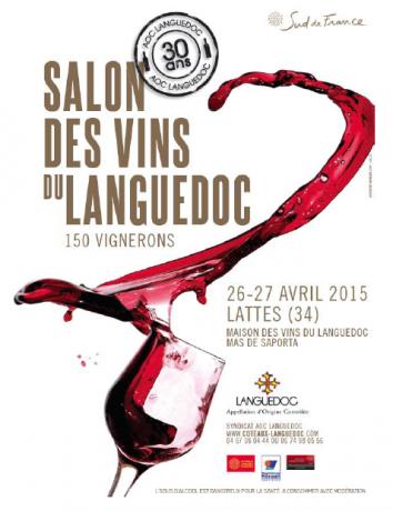 Salon des Vins du Languedoc - 26 et 27 avril 2015 au Mas de Saporta