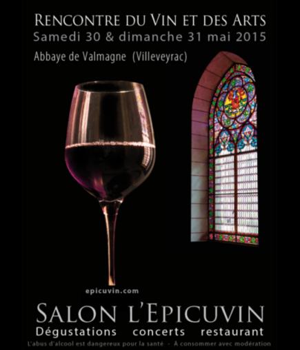 Salon L'Épicuvin 2015 - Abbaye de Valmagne
