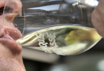 Soirée Pour un Sourire d'Enfant - juin 2014 - Daumas Gassac - Conscience - Archimbaud - Sigalière - Aurelles - Bergerie du Capucin - Augustins - Mas Thélème - Clos de Matane- Paul Guta - verres © ©Patricia HUCZEK