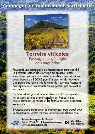 Terrois viticoles - Jean-Claude Bousquet - Financement participatif-Crowdfunding - 2016 - édition livre