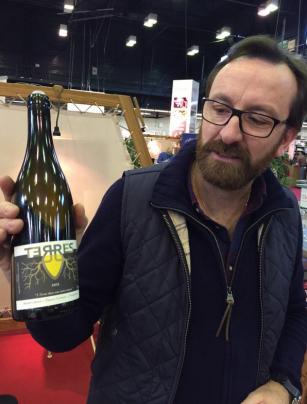 Thierry Germain Les Roches Neuves - Salon des Vins de Loire 2015 - par Patricia HUCZEK © (c)Patricia HUCZEK