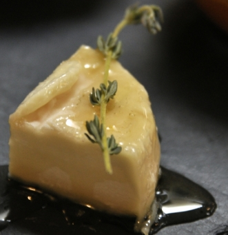 TOP PHOTO CARTE - Planche de la semaine 30 avec le Chef Éric Tapié - 2014 - soupe pistou - légumes soleil - volaille chimichurri - pélardon huile d'olive - crumble abricots