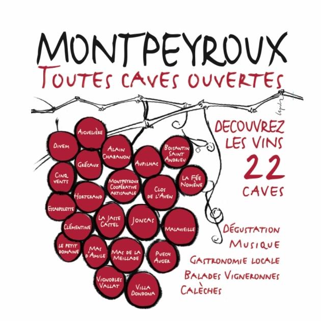 Toutes caves ouvertes à Montpeyroux - 20 avril 2014 de 10h à 18h
