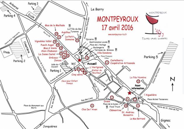 Toutes Caves Ouvertes Montpeyroux 2017
