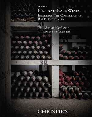 Vente aux Enchères Christie's en faveur du vigneron François Chidaine © (c) Christie's