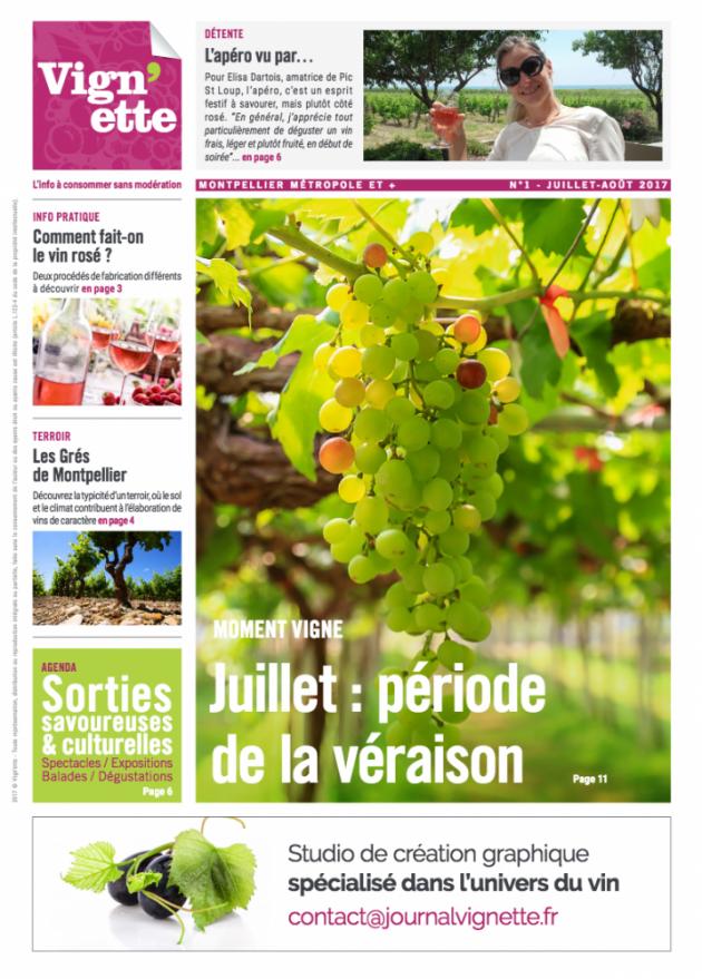 Vign'ette, le nouveau magazine local autour du vin