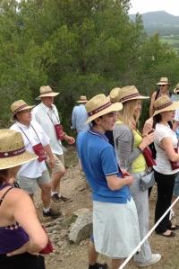 Vignes Buissonnières 2012 - équipe en balade