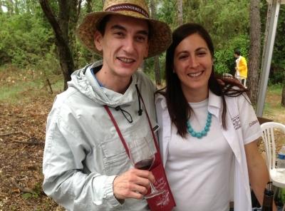 Vignes Buissonnières 2012 - équipe Olivier & Maud Vallon