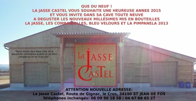 Voeux de La Jasse Castel 2015 - nouvelle Cave