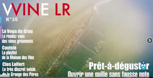 WINE LR dans LIBERATION - juillet 2015