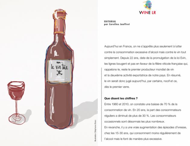 WINE LR - février 2014 - Les voix de la modération - Dominique BOUDET - Yves Orliac - Jean-Charles Tastavy - Fabrice Verdier